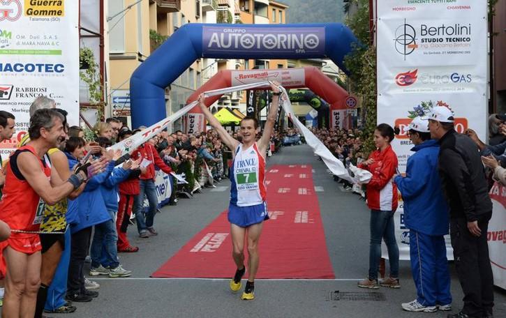 Corsa in montagna, Gaggi e la Francia  trionfano al Vanoni