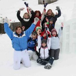 Bim, neve e centrali elettriche: una giornata di scuola e giochi
