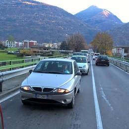 Valeriana chiusa, traffico in tilt Da martedì si cambia