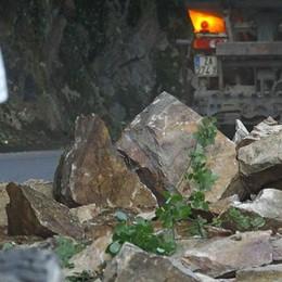 Frana sulla provinciale per San Marco  Albaredo aveva già segnalato i pericoli