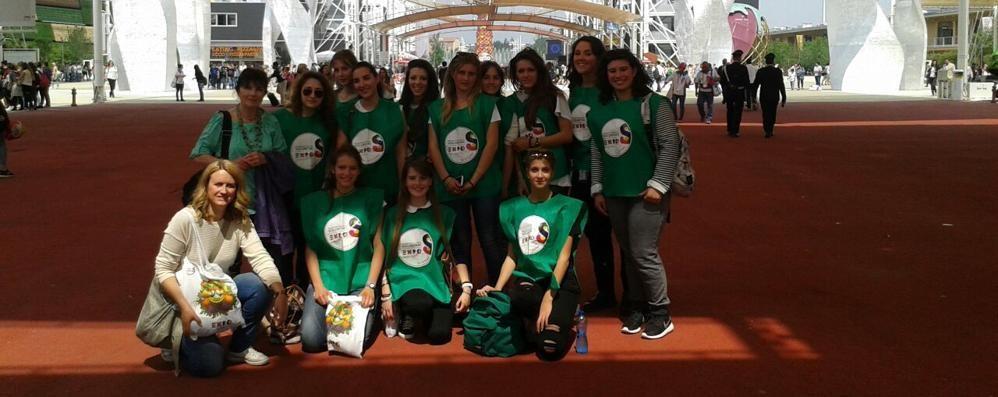 Expo, il liceo Piazzi è protagonista  Studentesse guide al padiglione Italia