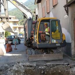 Teleriscaldamento verso Cosio Valtellino: iniziato il cantiere
