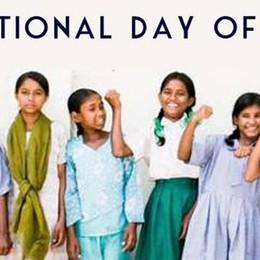 Bambine di tutto il mondo  Oggi è la vostra giornata