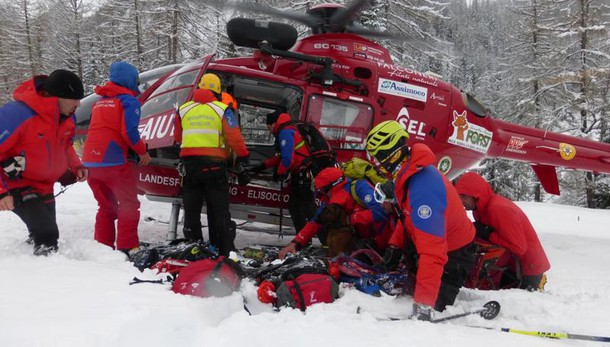 Valanghe: due morti e due dispersi in Alto Adige