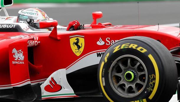 F1: Messico, Vettel