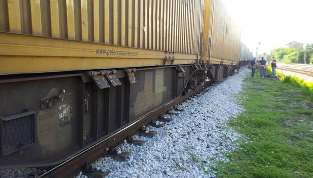 Assalto a treno merci in Puglia