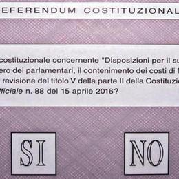 In 145mila alle urne per il referendum, si vota solo domenica
