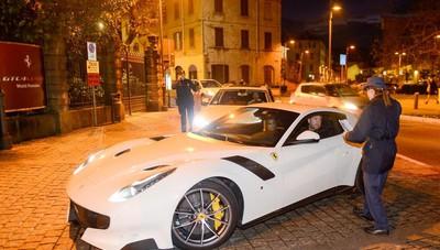 L'evento Ferrari a Cernobbio