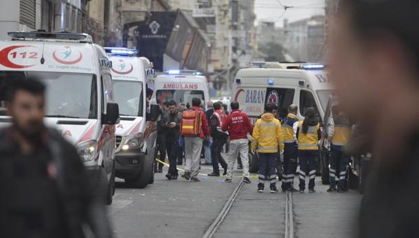 Attentato Istanbul: esplosione in centro, 5 morti e 19 feriti