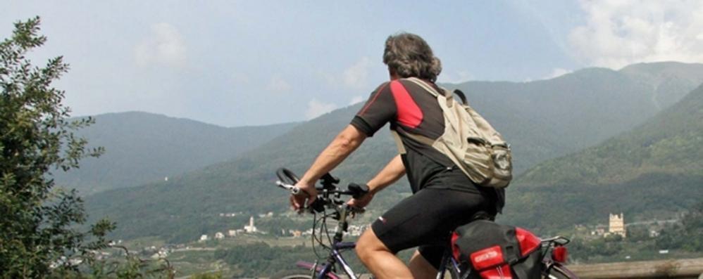 Sentiero Valtellina, arriva la segnaletica