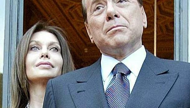 Berlusconi fa ricorso contro la Lario: troppi 1,4 milioni al mese