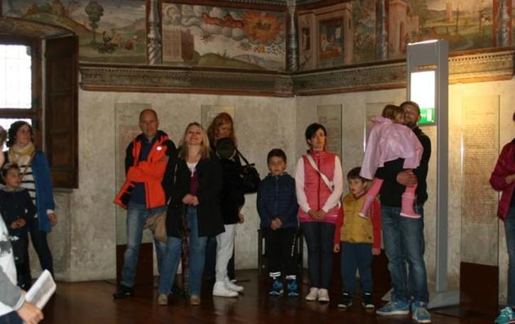 Domenica sempre aperto  Palazzo Besta, ingressi boom