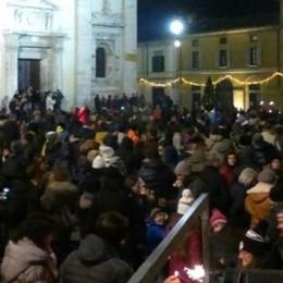 Capodanno in 1.500  Lo spettacolo  è piazza Basilica