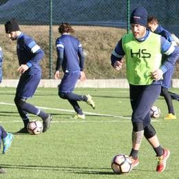 Calcio Eccellenza, primo allenamento di Raimondo col Sondrio