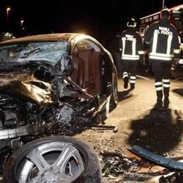Incidente sulla statale a Berbenno: sei feriti