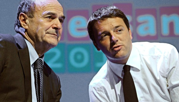 Bersani contro Renzi, è il Pd o il partito di Renzi? COMMENTA