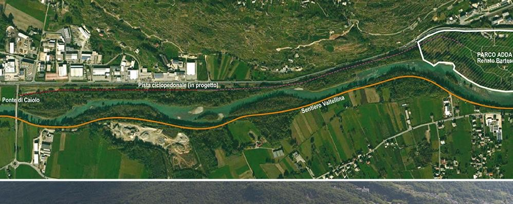"""Dal parco """"Bartesaghi"""" al sentiero Valtellina: decolla il progetto"""