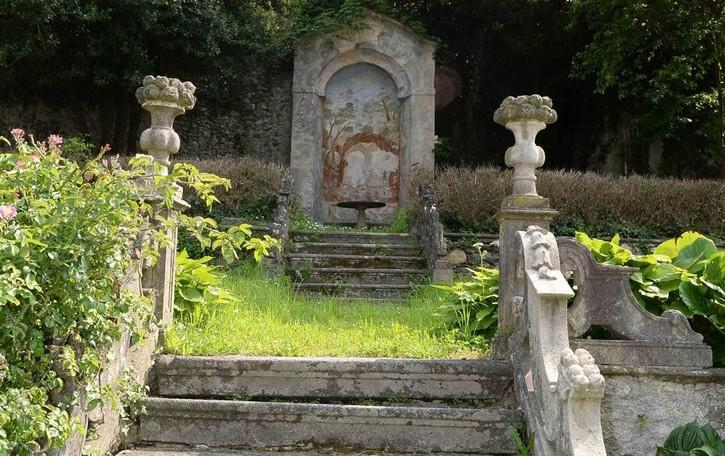 Il giardino del Malacrida luogo del cuore