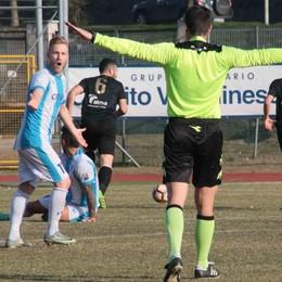 Calcio Eccellenza, un rigore contestato nega il successo al Sondrio