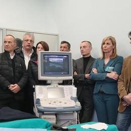 Ecco un nuovo ecografo di ultima generazione. Per i pazienti dializzati