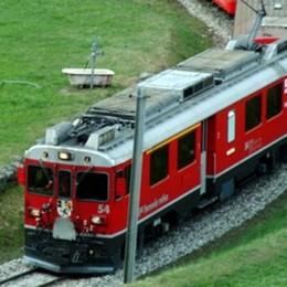 Trenino rosso, che numeri  In viaggio 350mila italiani