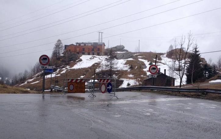 Madesimo, riaperta la statale a Pianazzo