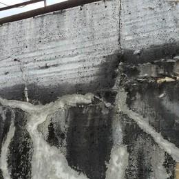 Cromo esavalente, piccole tracce  Il muro ex Falck non fa più paura