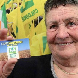 Card Coldiretti, sconti e vantaggi per i pensionati