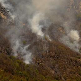 Finita la conta dei danni dell'incendio   Tra Piuro e Villa 1,3 milioni di euro