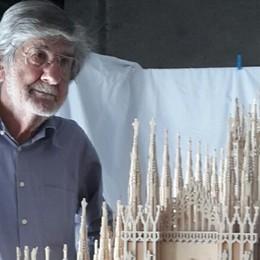 Dina e Domenico, in 3 anni realizzano  il Duomo di Milano