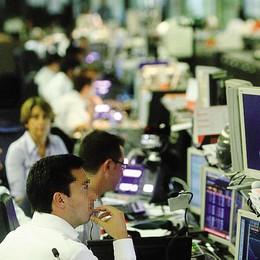 """Ipotesi """"fusione banche""""   e i titoli volano in Borsa"""