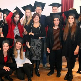 Festa grande a Faedo per 13 nuovi infermieri freschi di laurea