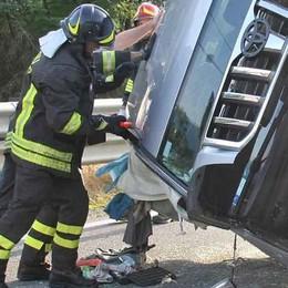 Incidente sulla statale. Auto in coda  per chilometri