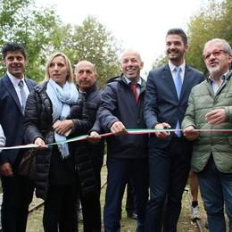 Inaugurato il Tracciolino, nuova via per il turismo