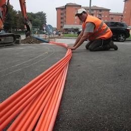La banda larga non è più un miraggio  Trussoni: «Coperto il 70% della città»