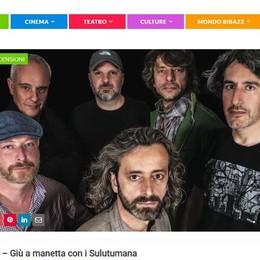 Il primo live dei Sulutumana  Un'anticipazione su Bibazz.it