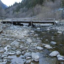 Deflusso dei fiumi. Ecco i minimi vitali  per tutta la Valchiavenna