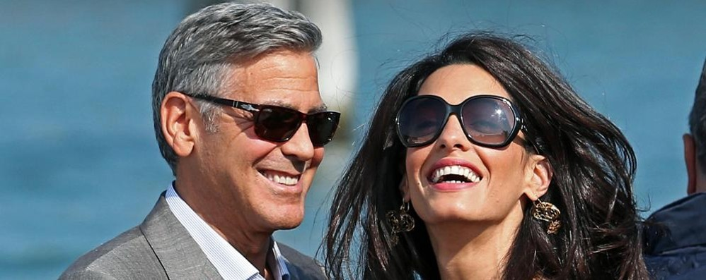 "Nuovi ""arrivi"" a casa Clooney?  «Amal incinta di due gemelli»"
