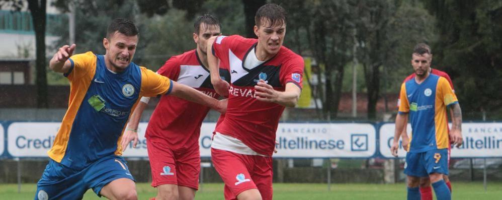 Calcio Eccellenza, finisce in parità il big match tra Cisanese e Sondrio