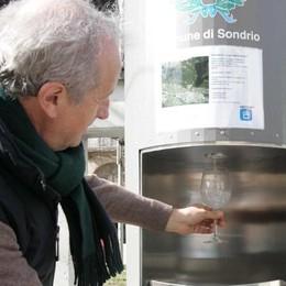 Consumo d'acqua, dai fontanelli due milioni di litri