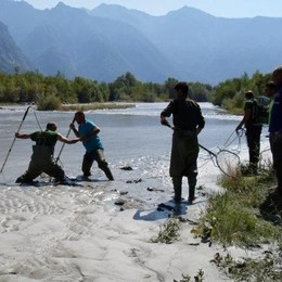L'agonia del fiume e il rischio Cengalo
