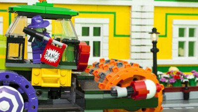 "Batman, Wonder Woman, Spiderman: Lego a ""City Booming"""