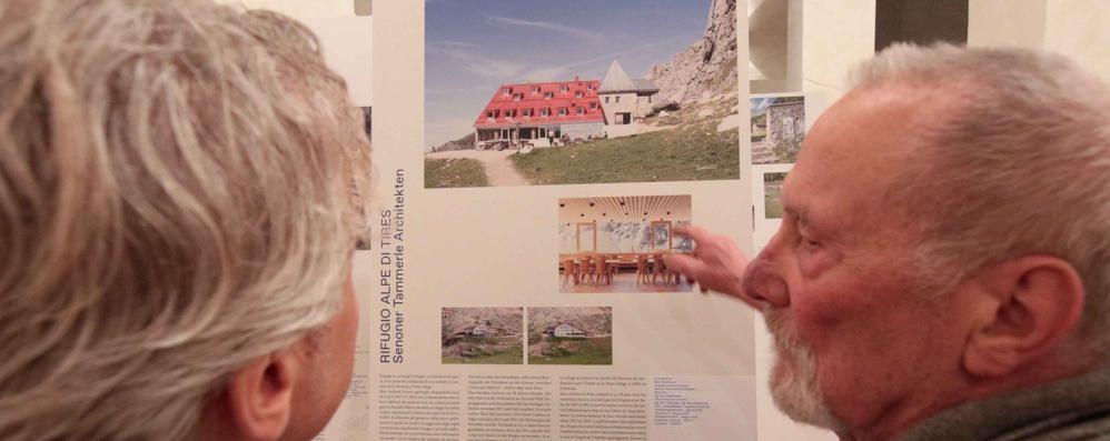 La sfida per gli architetti è assecondare la montagna