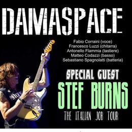 Stef Burns a Forcola, il chitarrista di Vasco  suonerà con   i Damaspace