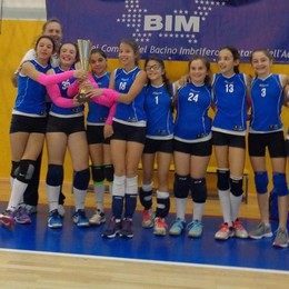 Volley finali Under 12, Pentacom regina