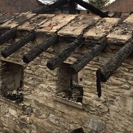 Albaredo, indagini ancora in corso  per il rifugio incendiato