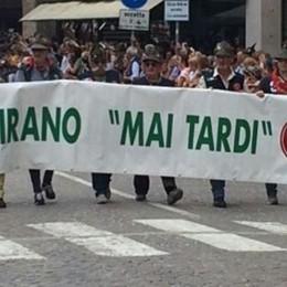 La Valtellinese c'è «Sacrificio e lealtà»  il motto a Treviso