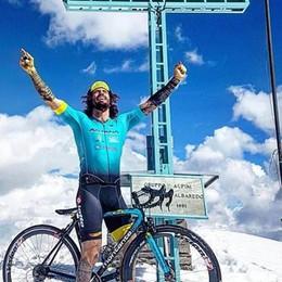 Albaredo, nuova impresa per Brumotti sul Monte Lago