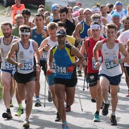 Corsa in montagna, Caneva e Bottà svettano ad Albosaggia