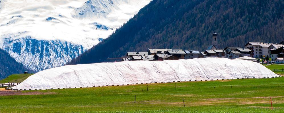 """Livigno ha messo la neve """"in cascina"""" per la gara di fondo del 25 agosto"""